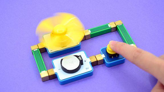 极客爸爸磁力电子积木
