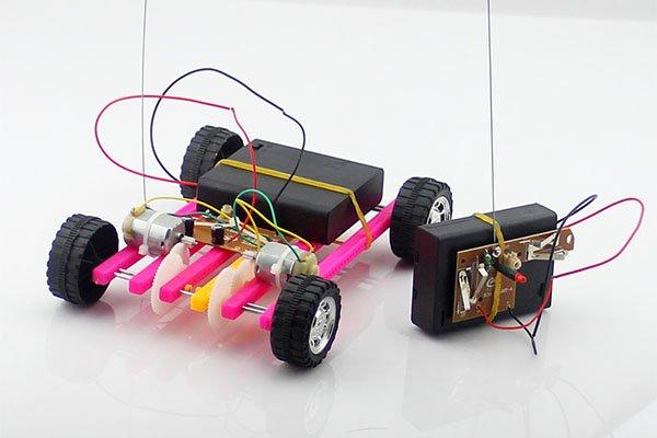 一起来DIY一台遥控车吧!