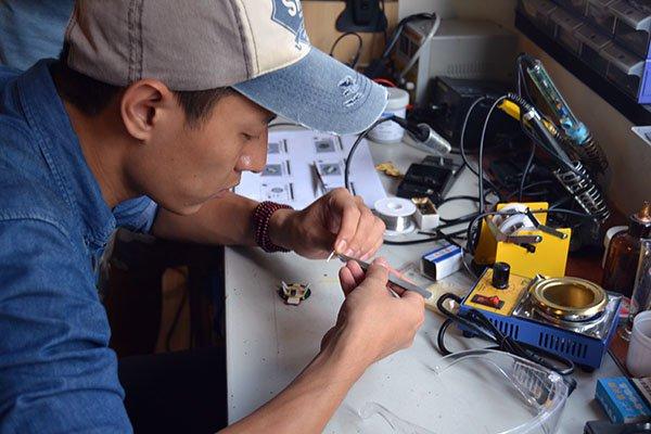 PVCBOT机器人DIY工作坊剪影