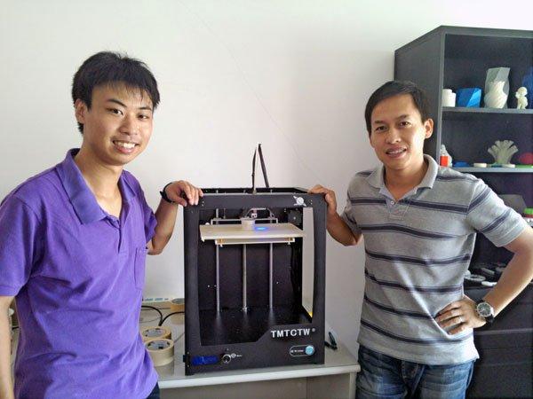 上海站:探秘锐智工坊木星3D打印机