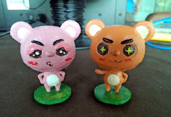 3D打印想念熊:数字化的玩具设计流程